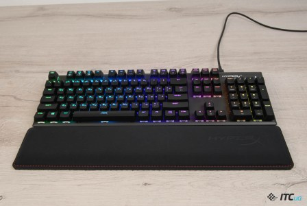 Обзор игровой механической клавиатуры HyperX Alloy FPS RGB