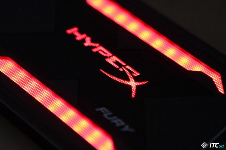 Обзор накопителя HyperX Fury RGB