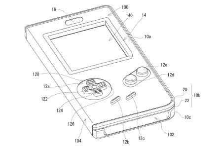 Nintendo запатентовала чехол, который превращает любой смартфон в классическую консоль Game Boy с аппаратными органами управления