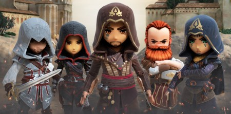 Assassin's Creed Rebellion — мобильная стратегия наподобие Fallout Shelter от Ubisoft