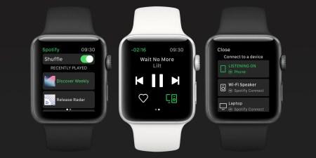 Spotify выпустил приложение для часов Apple Watch, но есть нюансы