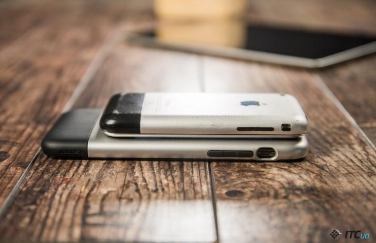 Чехол Spigen Classic One - для тех, кто помнит дизайн первого iPhone