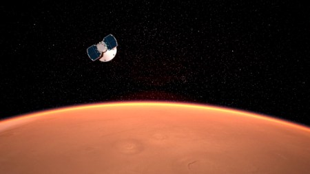 Космический аппарат InSight вот-вот сядет на Марс