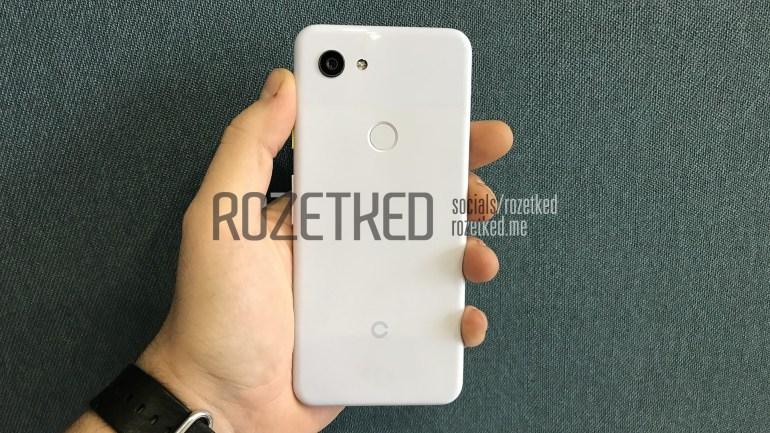 Появились живые фотографии более доступного Google Pixel 3 Lite с SoC Snapdragon 670 и разъемом 3,5 мм