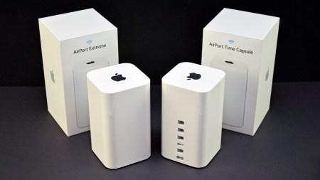 Apple прекратила продажи фирменных роутеров линейки AirPort
