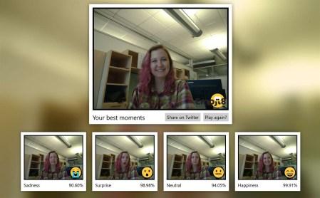 Microsoft представила UWP-игру Emoji8, в которой пользователю необходимо корчить гримасы, максимально достоверно имитируя эмодзи