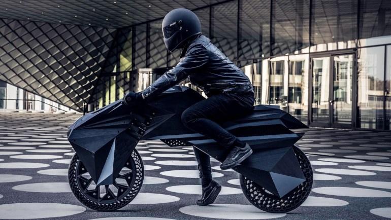 Немецкие исследователи из NOWlab напечатали на 3D-принтере электромотоцикл