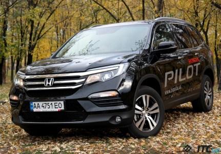 Тест-драйв Honda Pilot: незаслуженно недооценен