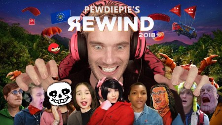 PewDiePie опубликовал собственный YouTube Rewind 2018