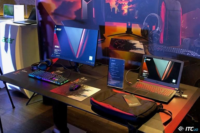 Acer обновляет ноутбуки Swift/Aspire и делает акцент на игровых устройствах