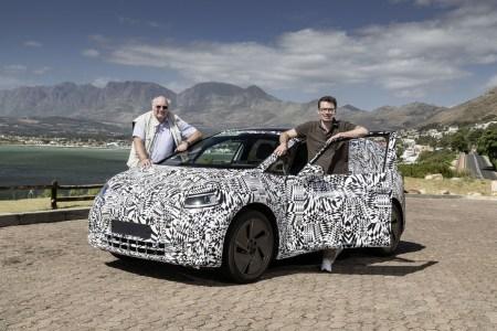 Volkswagen провел первые дорожные испытания электромобиля VW I.D. на дорогах Южной Африки [фото, видео]