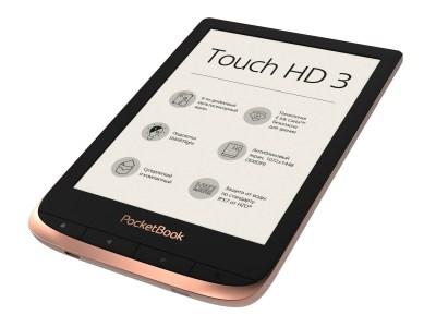PocketBook представил 6-дюймовый ридер PocketBook Touch HD 3 с экраном E Ink Carta HD, подсветкой SMARTlight и влагозащитой HZO по цене 5499 грн