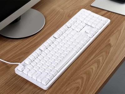Полноразмерная клавиатура Xiaomi Yuemi с механическими переключателями Cherry MX Red оценена в $48