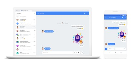 Сервис Messages готовится сменить прописку — с Android.com на Google.com