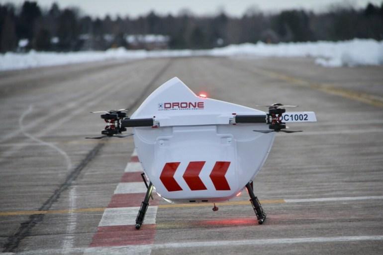 Весной 2019 года в Канаде будет запущен первый сервис доставки посылок с помощью дронов