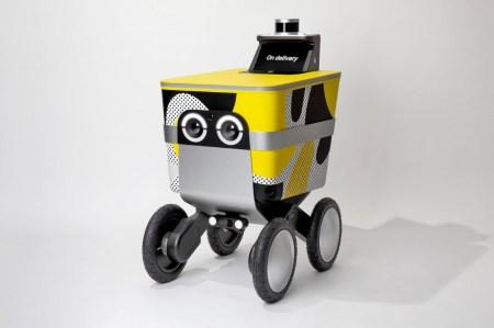 Serve — робот-курьер, разработанный американской логистической компанией Postmates