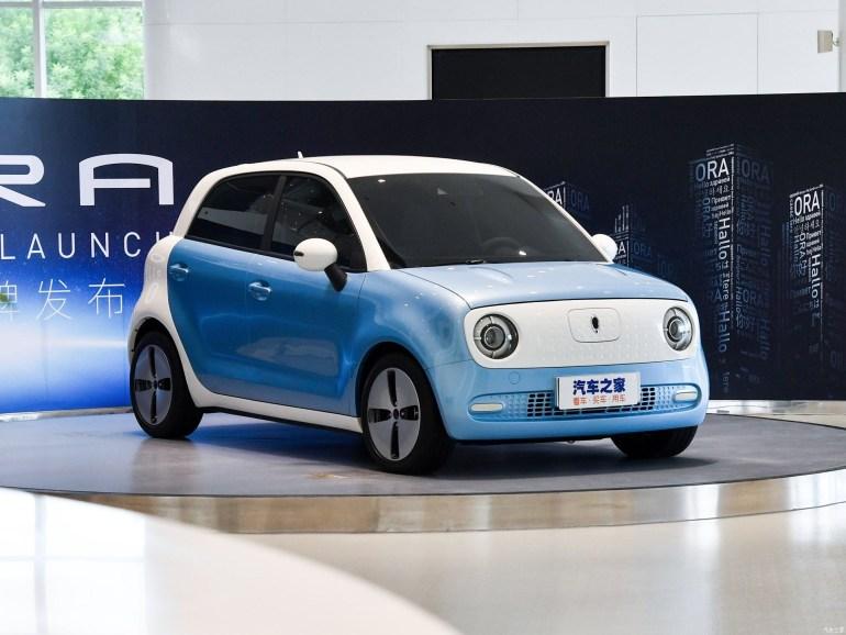 Great Wall выпустила недорогой городской электромобиль Ora R1