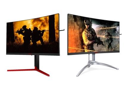 В Украине стартуют продажи геймерских изогнутых мониторов AOC AG273QCG (TN, 165 Гц) и AG273QCX (VA, 144 Гц) из новой линейки AGON 3