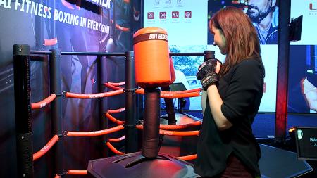 SkyTechSport представила умную боксерскую грушу