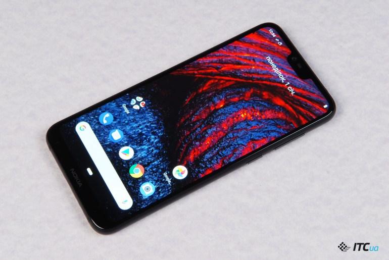 Nokia 6.1 Plus экран