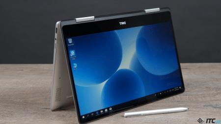 Обзор ноутбука-трансформера Dell Inspiron 7386