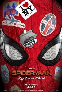 Первый трейлер и постер фильма Spider-Man: Far From Home / «Человек-паук: Вдали от дома»