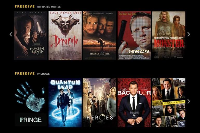 Amazon запустил в США бесплатный онлайн-кинотеатр IMDb Freedive с фильмами и сериалами, который работает по рекламной модели