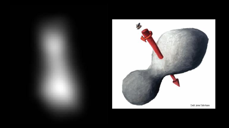 Зонд New Horizons пролетел мимо астероида Ультима Туле и начал передавать полученные данные, но этот процесс займёт 20 месяцев