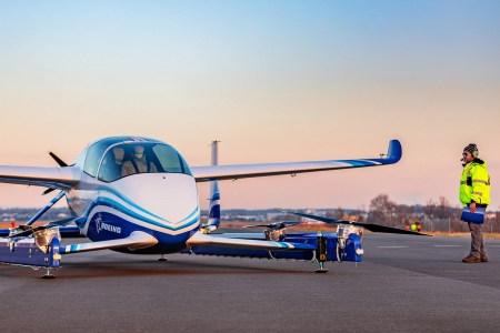Boeing испытал прототип электрического аэротакси NeXt