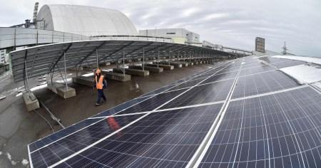 Японцы проявляют интерес к строительству в зоне отчуждения ЧАЭС крупной солнечной электростанции мощностью 1,2 ГВт