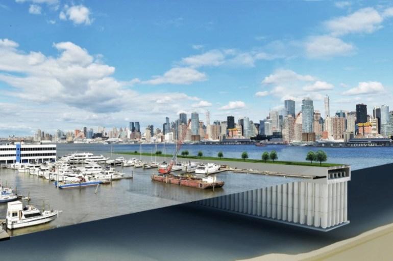 Parthenon Seawall - концепт необычной приливной электростанции, созданный нидерландскими архитекторами