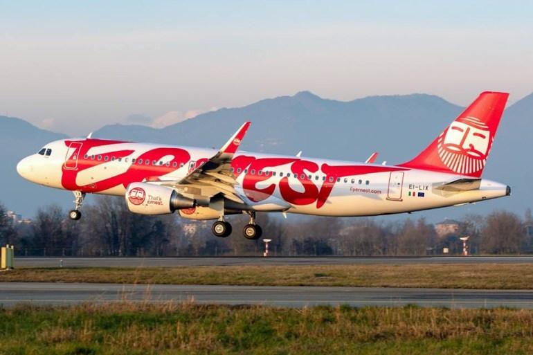 Авиакомпания Ernest Airlines расширит авиапарк на дополнительные 17 самолётов Airbus и откроет три новых направления из Украины