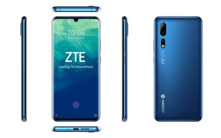 ZTE анонсировала новый флагман ZTE Axon 10 Pro 5G с тройной камерой и середнячок Blade V10 с фронтальной камерой на 32 Мп для любителей селфи