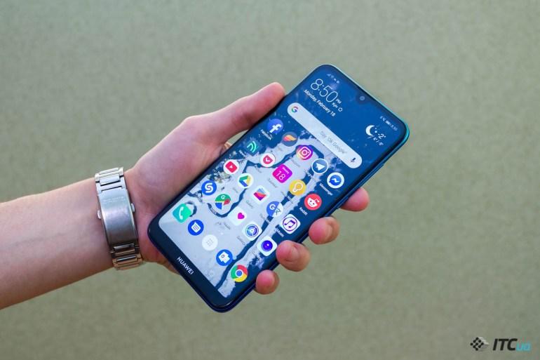 Y7 2019 — обзор смартфона Huawei