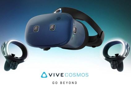 HTC показала контроллеры для своей гарнитуры виртуальной реальности Vive Cosmos