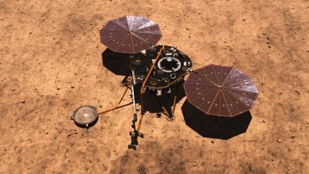 Зонд Insight начал передавать ежедневные метеосводки с Марса