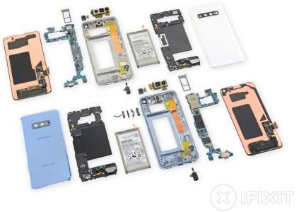 iFixit: ремонтопригодность Samsung Galaxy S10 и S10e – 3 из 10