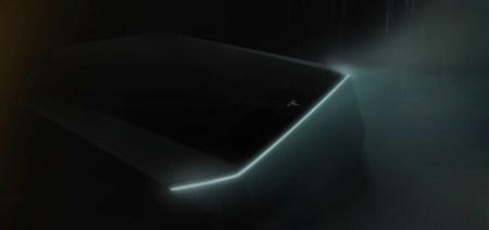 Илон Маск показал первое тизер-изображение грядущего электрического пикапа Tesla