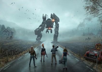 Generation Zero: а вдоль дорог роботы с косами стоят