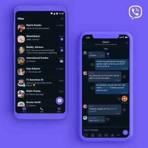 В мессенджере Viber наконец появился темный режим интерфейса