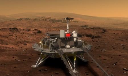 Китай намерен отправить посадочный модуль на Марс в 2020 году