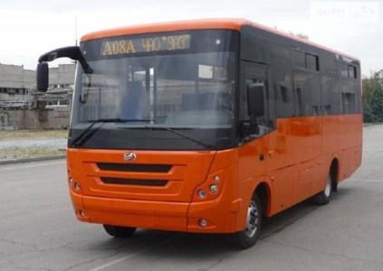 ЗАЗ запустил производство нового пригородного автобуса ЗАЗ А08