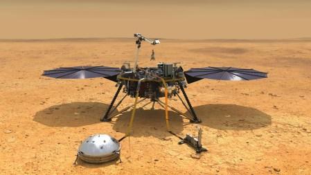 Аппарат InSight зафиксировал первое вероятное «марсотрясение»