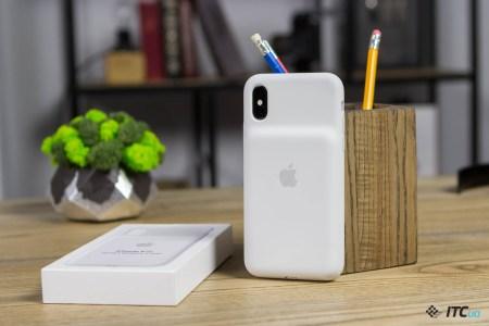 Apple Smart Battery Case — обзор чехла с аккумулятором для iPhone Xs