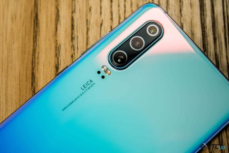Huawei P30 камера