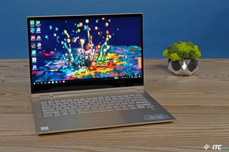 Обзор ноутбука-трансформера Lenovo Yoga C930-13IKB