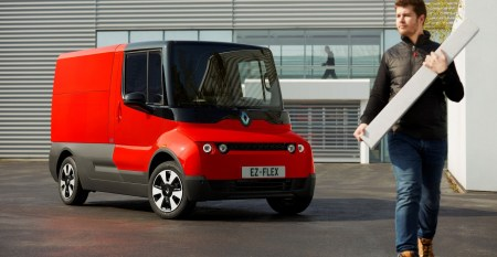 Концепт грузового электромобиля Renault EZ-FLEX с запасом хода 150 км предоставят для двухлетнего тестирования курьерским службам Европы