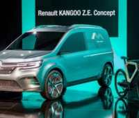 Renault Kangoo Z.E. Concept демонстрирует, как будет выглядеть серийный электрофургон 2020 модельного года - ITC.ua