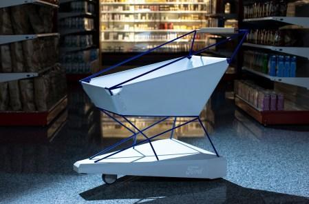 Ford разработал футуристичную магазинную тележку с системой автоматического торможения перед препятствиями [видео]