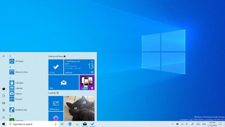 Microsoft анонсировала следующее крупное обновление Windows 10 May 2019 Update